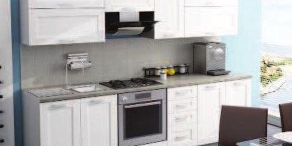 Kuchyňská linka WENUS 09 260 cm - bílá barva