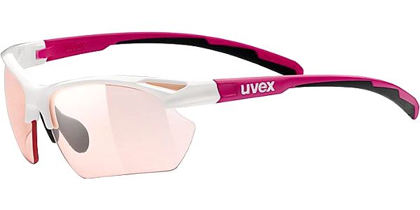 Uvex Sportstyle 802 Small Vario White/Pink (8304)
