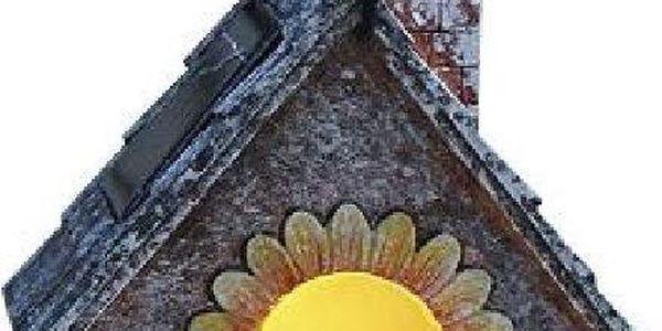 LED zahradní dekorace Housebird