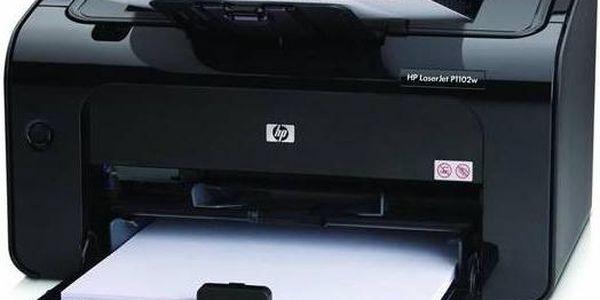 HP LaserJet Pro P1102w (CE658A#B19) černá + Doprava zdarma