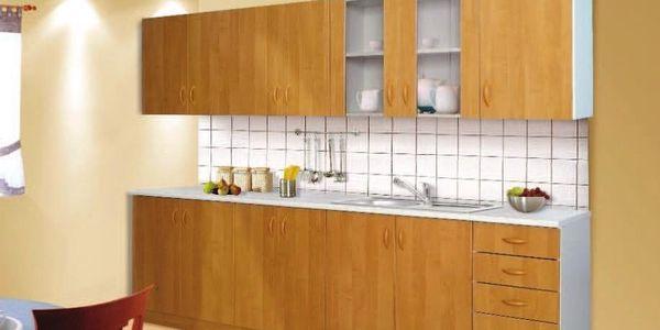 Kuchyňská linka SARA 260 cm - olše