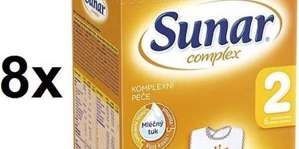 Sunar Complex 2, 600g x 8ks + dárek Svačinový box Bella Baby Happy (zdarma)