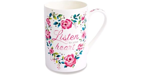 Hrnek Cooksmart England Listen to Your Heart, 340 ml