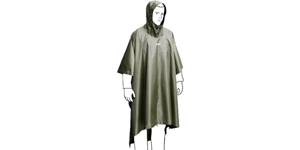 Boll Bivy Poncho M forest