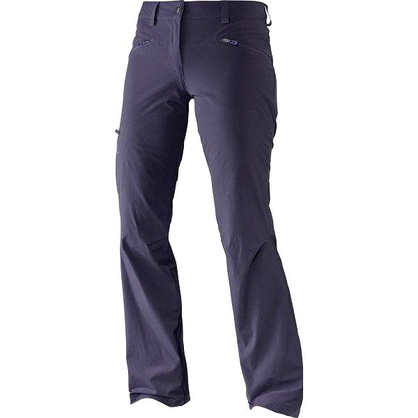Salomon Wayfarer Pant W Nightshade Grey 38/R