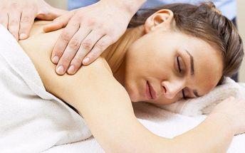 Regenerační masáže proti bolavé šíji