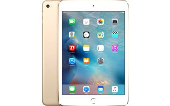 Apple iPad Mini 4 Wi-Fi 16GB Gold (MK6L2FD/A)