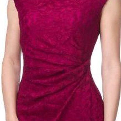 Chaps dámské šaty XS vínová