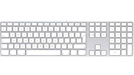 Apple Wired Keyboard CZ (MB110CZ/B)