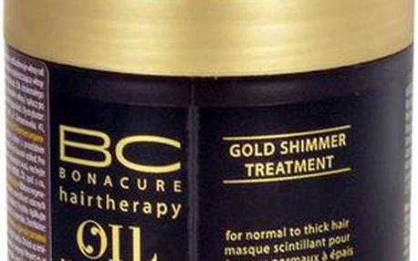 Schwarzkopf BC Oil Miracle Gold Shimmer Treatment Thick Hair Maska na vlasy 150ml pro ženy Pro normální,silné vlasy
