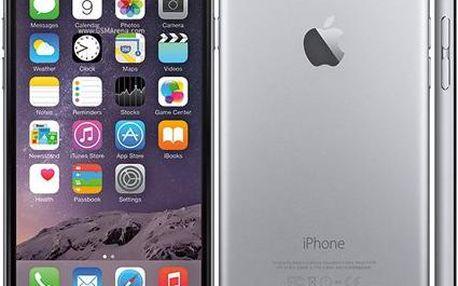 Apple iPhone 6S Plus, 16 GB, vesmírně šedý + hlinikový rámeček DEVIA ZDARMA!