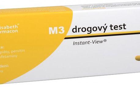 Ostatní Drogový test M-3 Multipanel Instant-View 1 ks