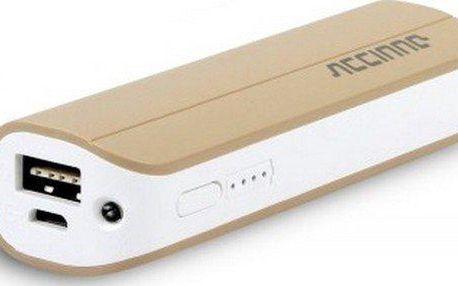 Accinno Powerbank 2600 mAh Origin BA10 Apple Gold