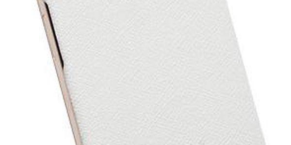 Krusell Pouzdro TEXTURECOVER, Apple iPhone 6 Plus, bílá