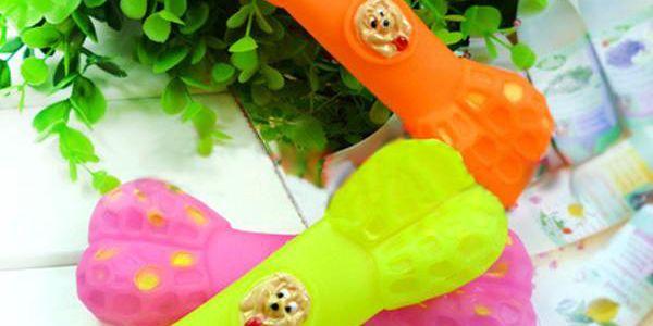 Gumová kost - hračka pro psa
