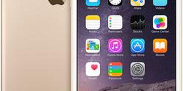 Apple iPhone 6S Plus, 128 GB, zlatý + hlinikový rámeček DEVIA ZDARMA!