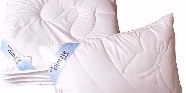 Celoroční ložní souprava CIRRUS Microclimate Cool touch 100% bavlna velikost přikrývky: francouzská-220x200 cm, velikost polštáře: 50x70 cm