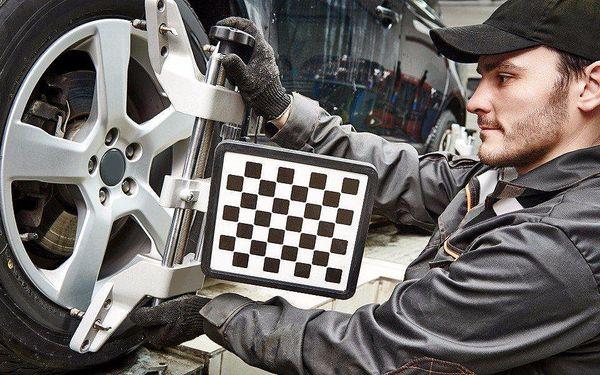 3D geometrie a prověření podvozku auta