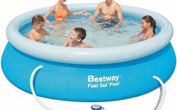 Bestway Bazén 3,05 x 0,76 m s kartušovou filtrací