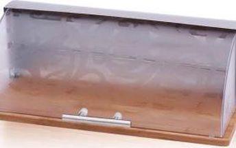 Chlebovka nerez / bambus RENBERG RB-4426