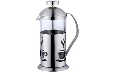 Konvička na čaj a kávu nerez French Press 800 ml RENBERG RB-3105