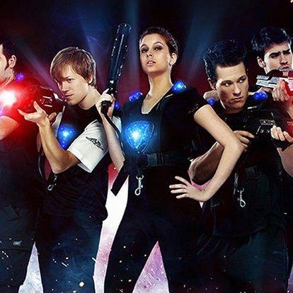 Adrenalinová hra laser game v LazerFun