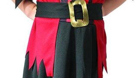 Kostým Pirátka 92-104 cm