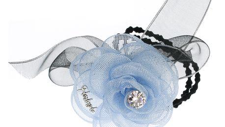 Fashion Icon Gumička do vlasů tenká s květinou