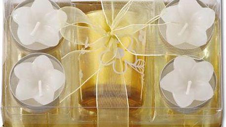Sada vonných svíček ve zlaté barvě - dodání do 2 dnů
