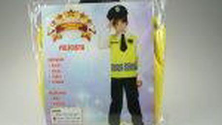 Kostým Policie 4-6 let