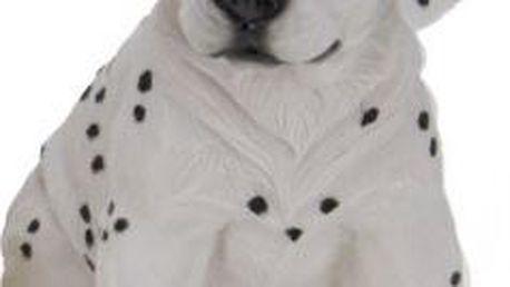 Zahradní dekorace štěně, dalmatin sedící ProGarden KO-795000100dalm