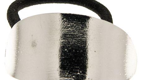 Fashion Icon Vlasová gumička s kovovou sponou