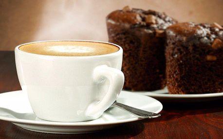 Domácí dezert a kávička pro dva v The Cat Café