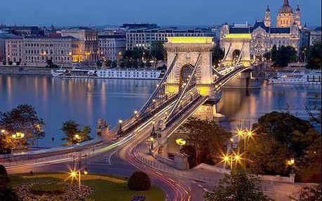 3* hotel v Budapešti. Pobyt pro 2 osoby a 2 děti do 12 let