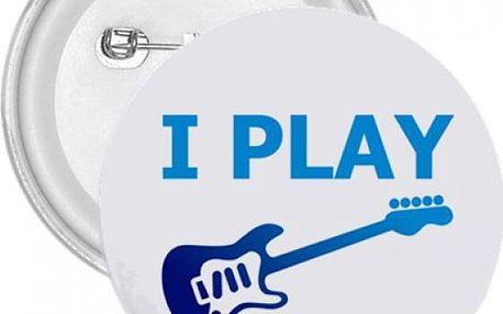 Placka Hraji na elektrickou kytaru