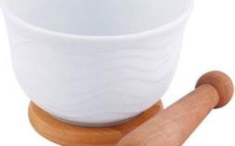 Hmoždíř porcelánový 14 cm RENBERG RB-10105