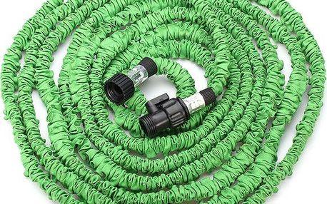 Flexibilní zahradní hadice - zelená
