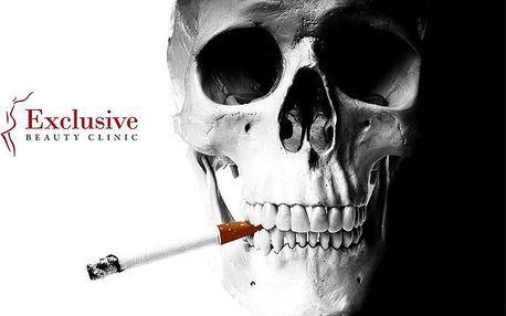 45minutový laserový program proti kouření v Exclusive Beauty Clinic v Praze