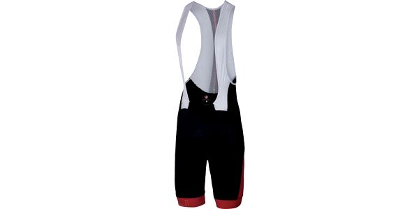 Castelli Velocissimo Bibshort Black/Red XL