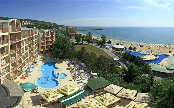 Bulharsko - Varna (oblast) - Zlaté Písky na 11 dní, all inclusive s dopravou letecky z Prahy přímo na pláži