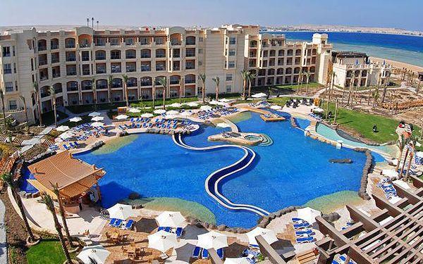 Egypt - Hurghada na 8 až 10 dní, all inclusive nebo ultra all inclusive s dopravou letecky z Prahy přímo na pláži