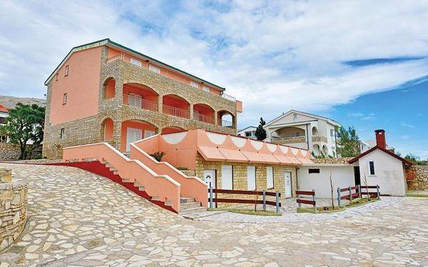Chorvatsko - Ostrov Pag na 8 až 12 dní, bez stravy s dopravou vlastní 15 m od pláže