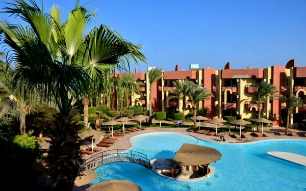 Egypt - Hurghada na 8 až 12 dní, all inclusive nebo polopenze s dopravou letecky z Bratislavy přímo na pláži