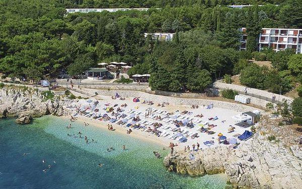 Chorvatsko - Rabac na 4 až 8 dní, polopenze s dopravou vlastní 100 m od pláže