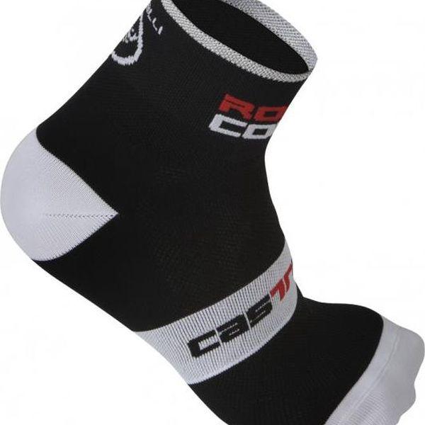 Castelli Rosso Corsa 6 Sock Black L/XL