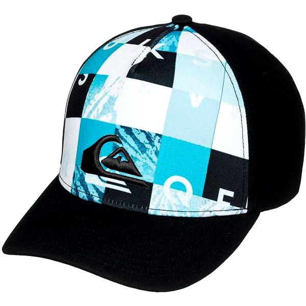 kšiltovka QUIKSILVER - Pintails Bp Check Remix Hawaiian Ocean (BMJ1) velikost: OS