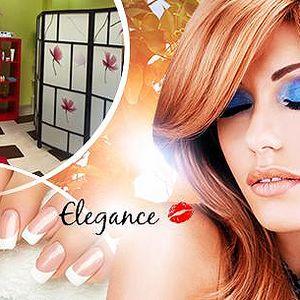 4hod. relaxační balíček péče pro ženy. Kosmetika, manikúra a pedikúra, masáž i kadeřnické služby.