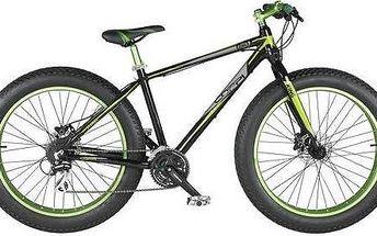 """Coppi 2016 King Fat bike, vel. 26"""" černé/zelené + Doprava zdarma"""