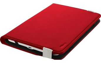 """Trust Primo Folio Case with Stand for 7-8"""" tablets - red (20314)"""