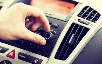 Servis klimatizace a dezinfekce vozu ozónem